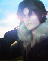 Squall Leon by nell-fallcard