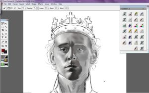 WIP Henry V by Alienablackmores