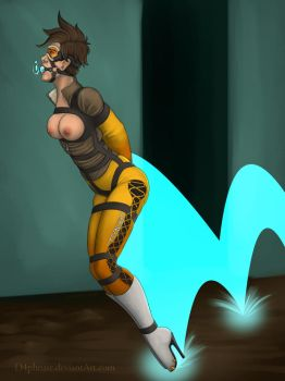 Overwatch Pinups : Tracer by d4phnaie