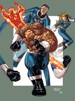 Fantastic Four - Soul Color by SpiderGuile