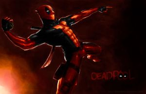 Deadpool Lovely Grenade by DonTranes