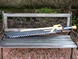 Chainsaw sword [final] by Kaysnee