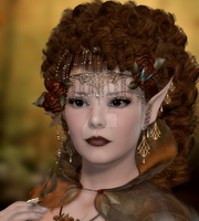 Beautiful brown fae by CaperGirl42