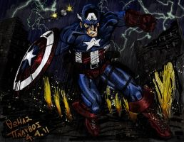 Captain America by thomas132