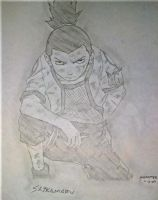 Younger Shikamaru by MoPotter