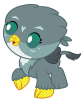 MLP Griffin Gabby Baby by Magpie-pony
