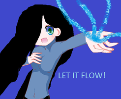 Let it flow.. by Mariathesabertooth