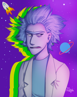 [ Rick and Morty ] Rick Sanchez by nightlocksmoothie