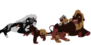 Lionssss by HeremSheol