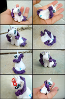 Rarity Figure: Multiple Views by GrandmaThunderpants