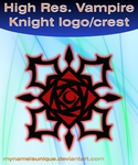 High res. Vampire Knight crest by mynameisunique