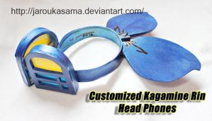 Customized Rin Head Phones by jaRoukaSama