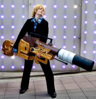 Sanji (Strong World) - Animazement 2013 by kiokukaiba