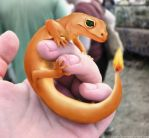 Baby Charmander by GosteOner