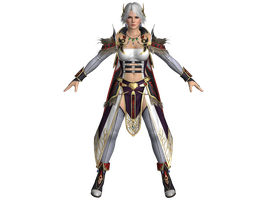 DOA5 LR Christie Falcom mashup costume by zareef
