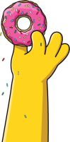 Homer Hand by Dr-Mastermind