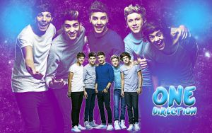 One Direction Wallpaper #1 by MeganL125
