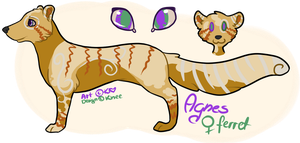 Agnes reference sheet by Ariana-Kio