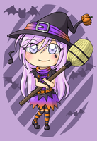 Witch Chibi Wataame by ocelot-girl