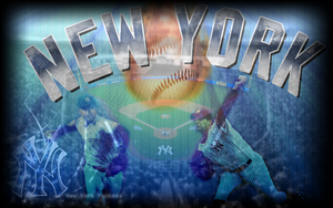 Yankees Wallpaper 3 by wickedwotwes