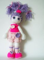 Flora, spring art doll by KooKooCraft
