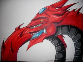 Another slifer the sky dragon by Nami-v