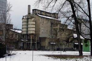old cement works by organicvision