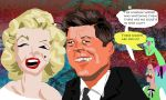 JFK and Marilyn Monroee by BernardFazling