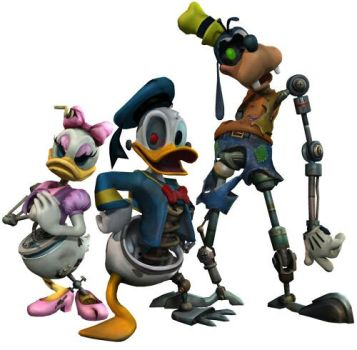 Epic Mickey models- posed by Hamilton74