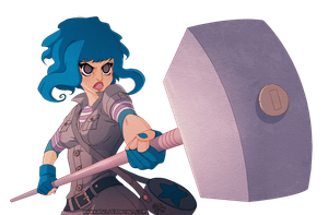 Ramona Flowers by Kaisel