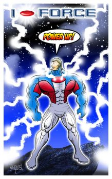 I-FORCE: POWER UP! by EricLinquist