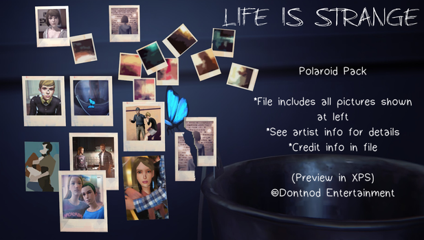 LiS - Polaroid Pack by angelic-noir