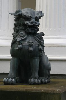 Foo dog by Saoirse-meansfreedom