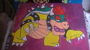 Bowser painting by Chaoslink1
