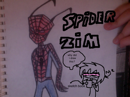 spider man? no its just zim by exileinvadercat