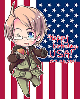 Happy birthday, America by say0ran