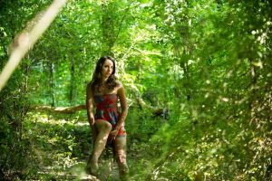 in the woods by Tommy8250