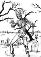 Zombie by aquilianranger