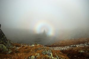 Brocken spectre by My-dynig-soul