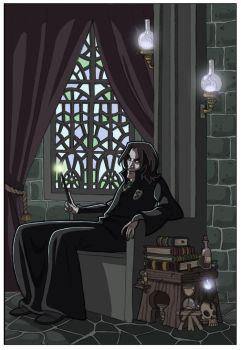 Severus Snape -HP- by kyla79