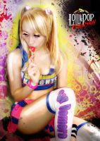 Lollipop Chainsaw Massacre by ZeroLiver