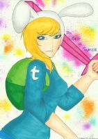 Fionna the Human - The Best of Tumblr. - Contest by techn0vert