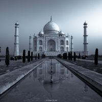 TAJ MAHAL Mystery Continues by AndrewToPhotography