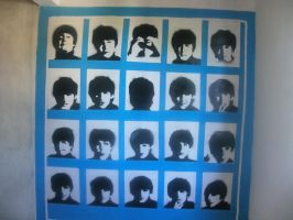a hard day's night---mural by daisymcqueen