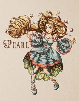 [Legend of Mana] Pearl - Colored by PaolaTuazon