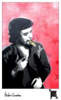 Che Guevara - Stencil on Canvas by byCavalera