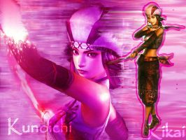 Samurai Warriors Kunoichi by k0nfuwzdxkikai