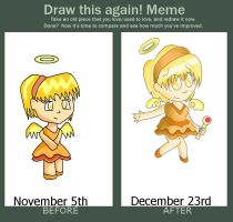 Draw this again meme by nenogirlygirl