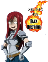 Fairy Tail-Erza angry by AlexHirotaka