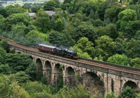 Uppermill Steam Closeup by irwingcommand